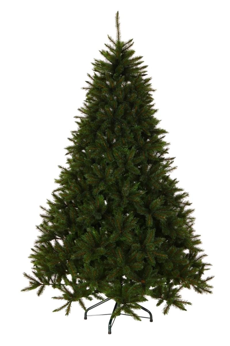 Élethű műfenyő, méregzöld színű tűlevéllel-Forest Frosted PIne 260 cm