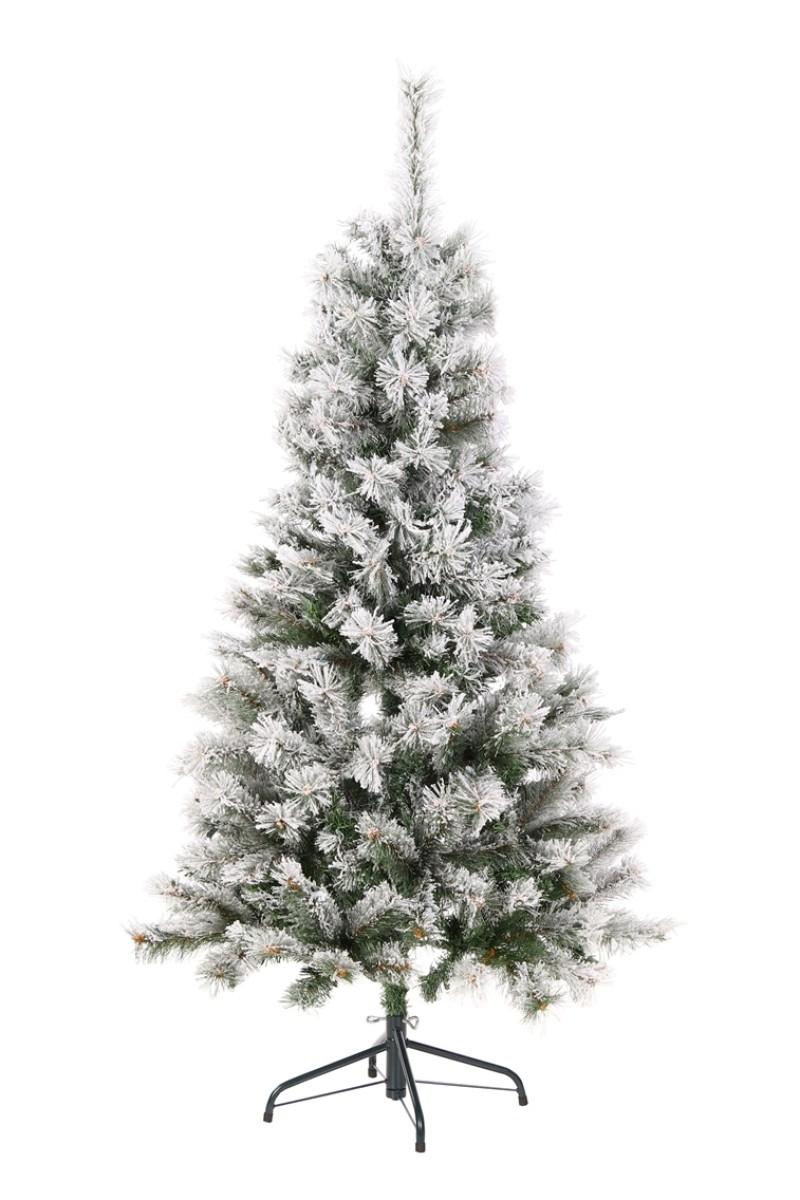 Álomszép havas műfenyő-Medford 155 cm
