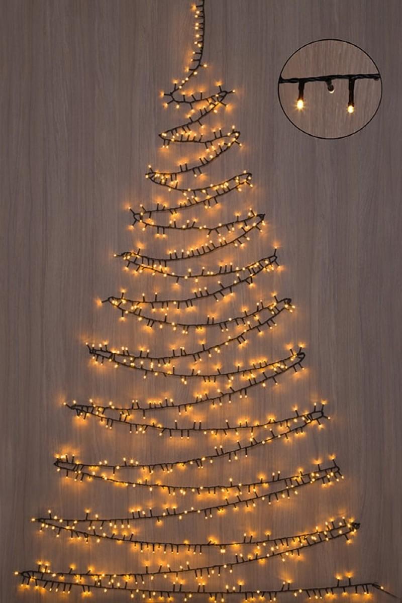 Karácsonyfa égősor, 1000 LED-20 m