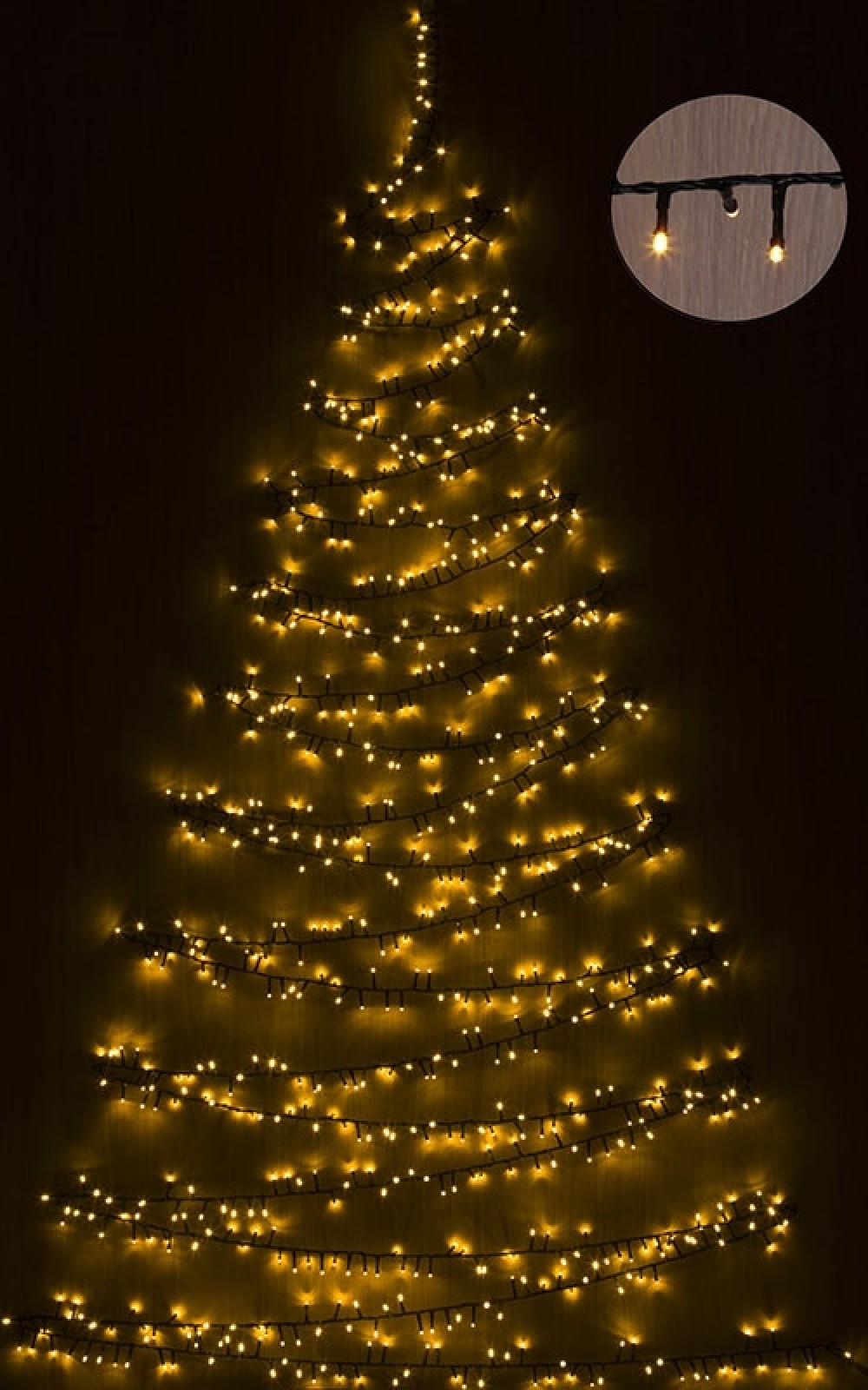 Karácsonyfa izzósor, 550 LED