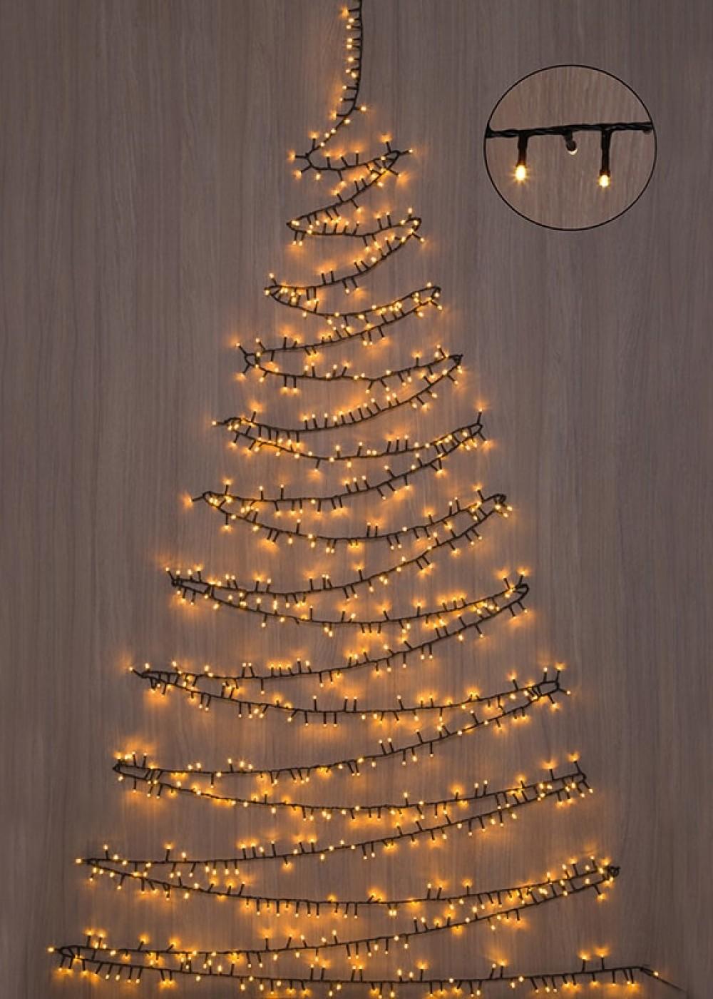 Karácsonyfa izzósor, 370 LED