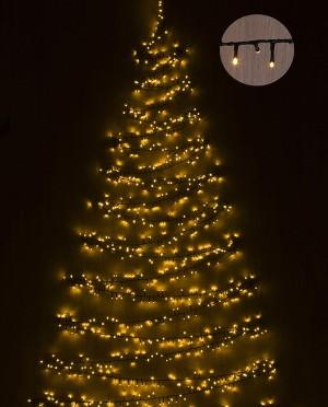 Karácsonyfa égősor, 370 LED