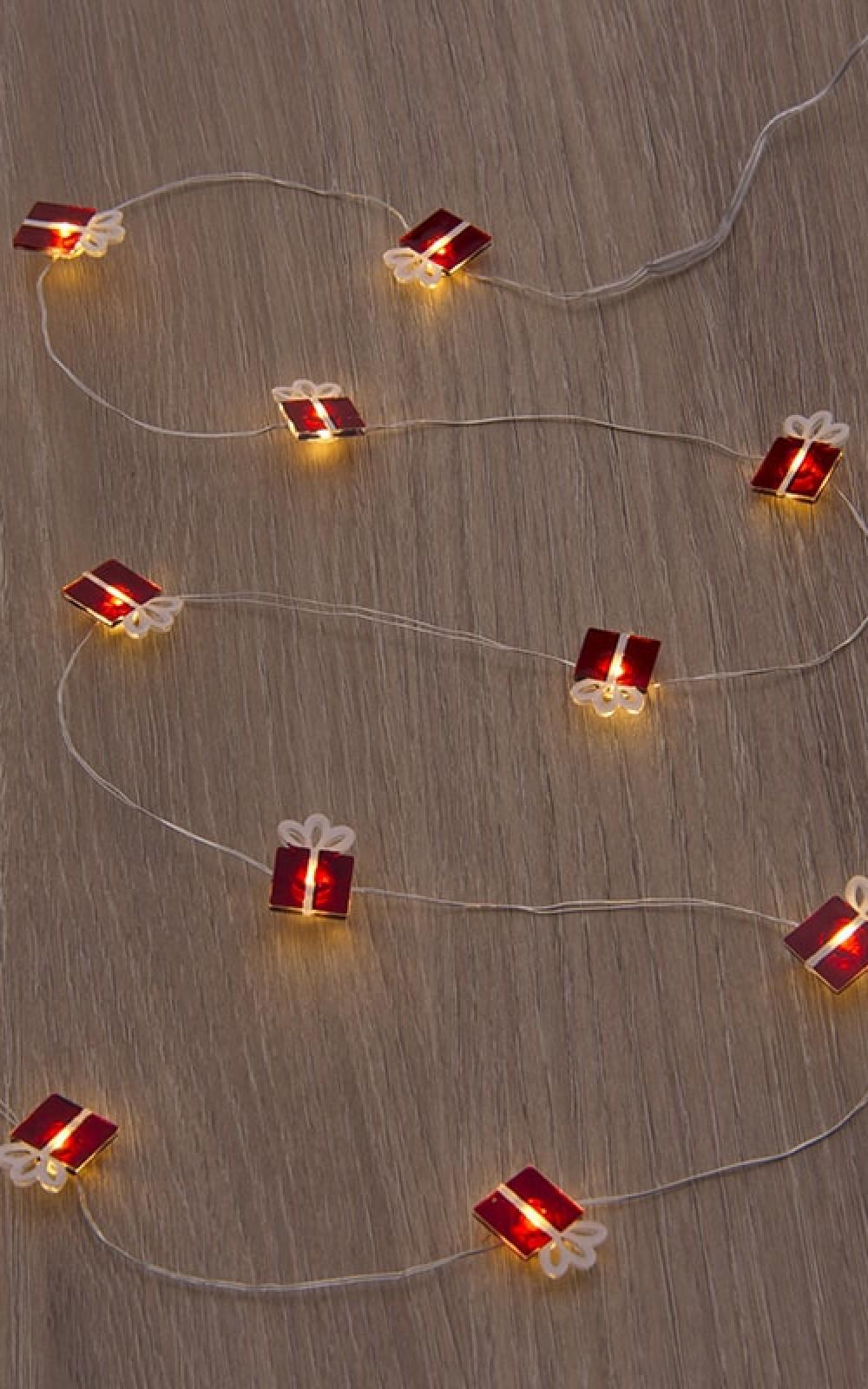 Karácsonyi dekorációs fények