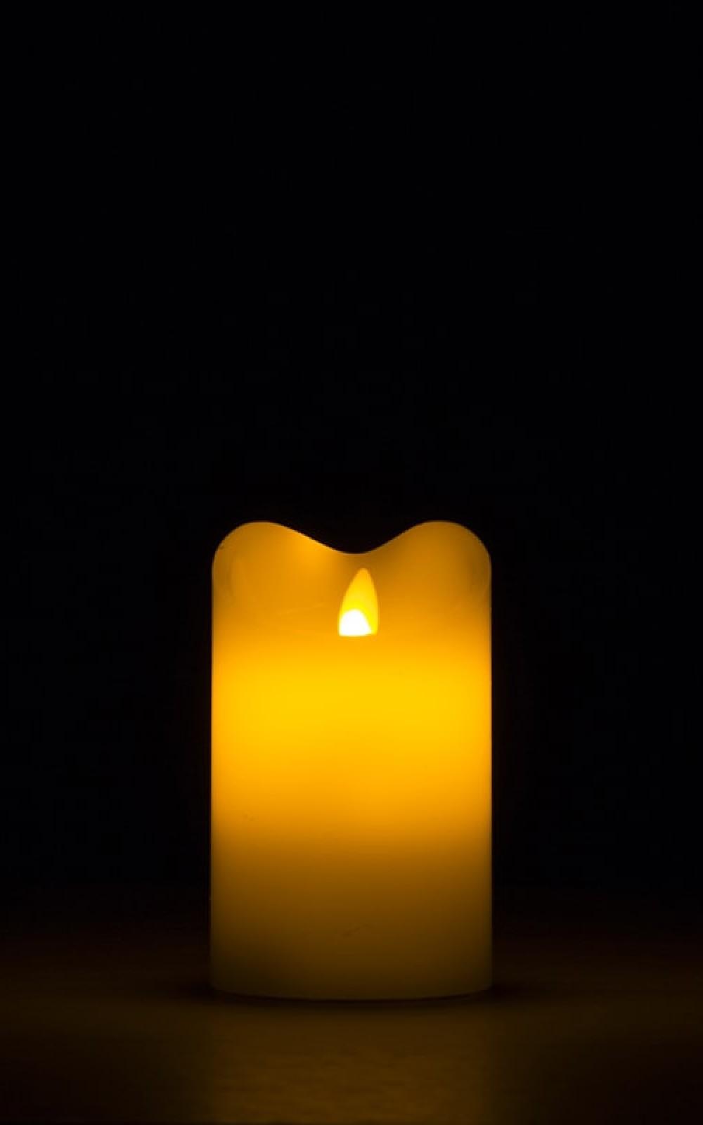 Karácsonyi dekorációs fények LED gyertyával