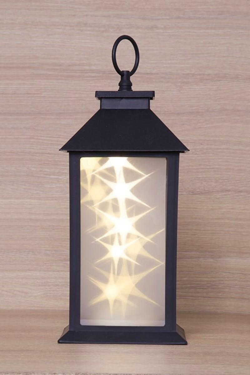 Karácsonyi dekoráció LED lámpással