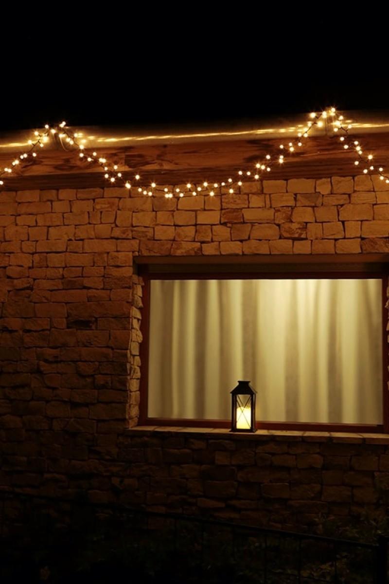 Gyöngy fénygirland-400 LED