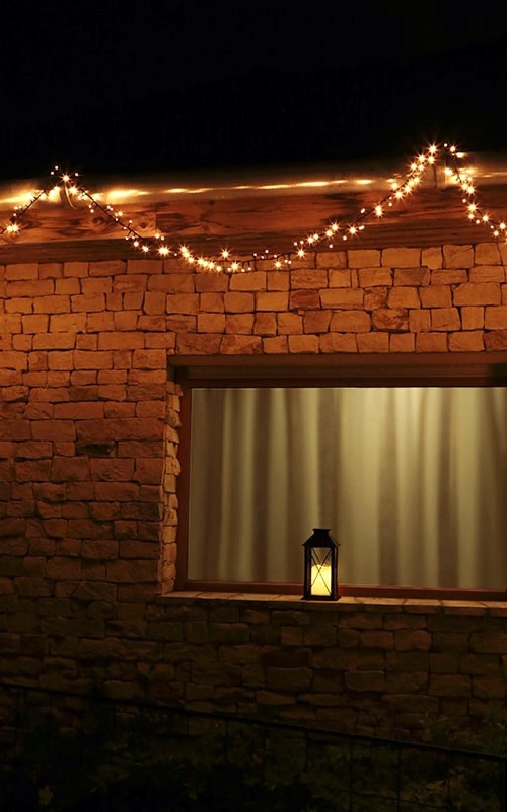 Kültéri fényfüzér 370 LED