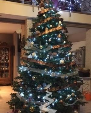 Karácsonyfa-Sherwood Spruce 305 cm-Műfenyő