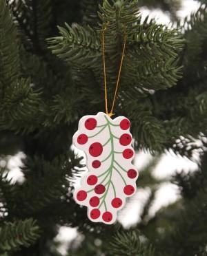 Karácsonyfadísz-illexbogyó