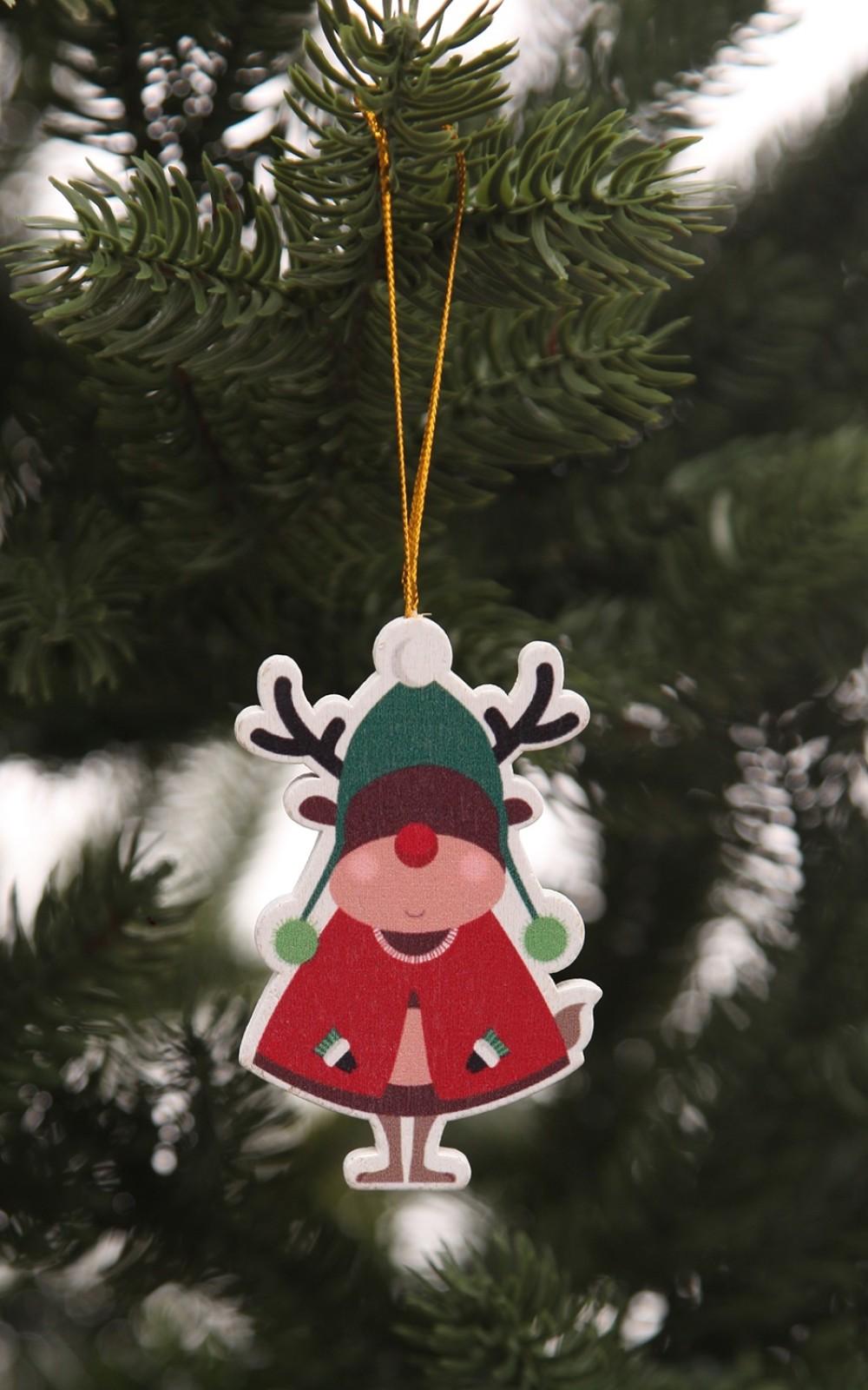 Karácsonyfadísz-Rudolf