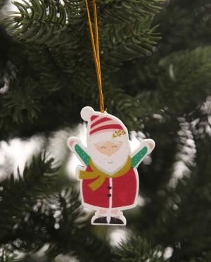 Karácsonyfadísz-Mikulás