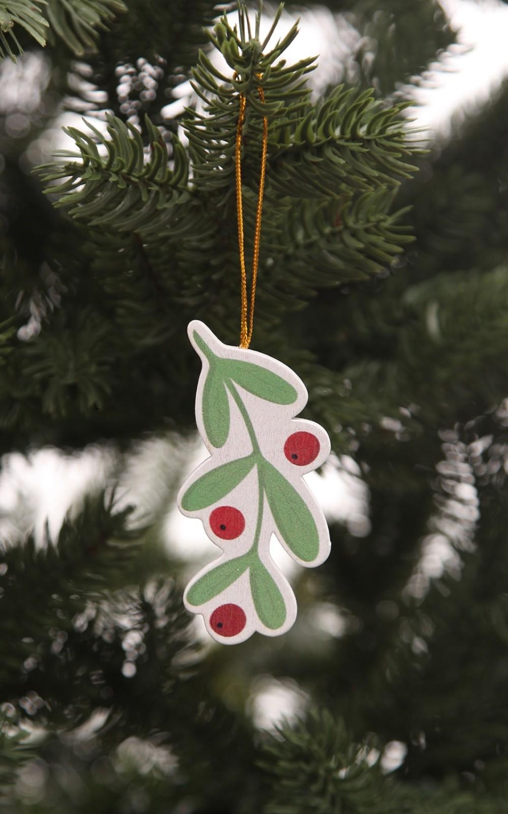 Karácsonyfadísz-fagyöngy