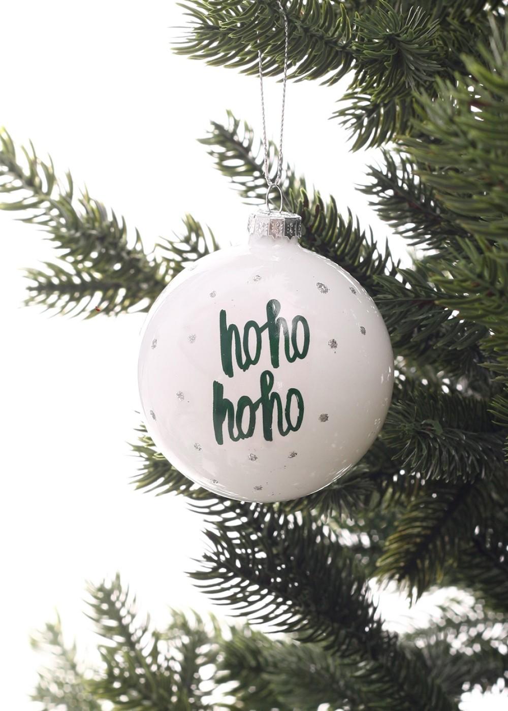 Karácsonyfadísz-Hohohoho