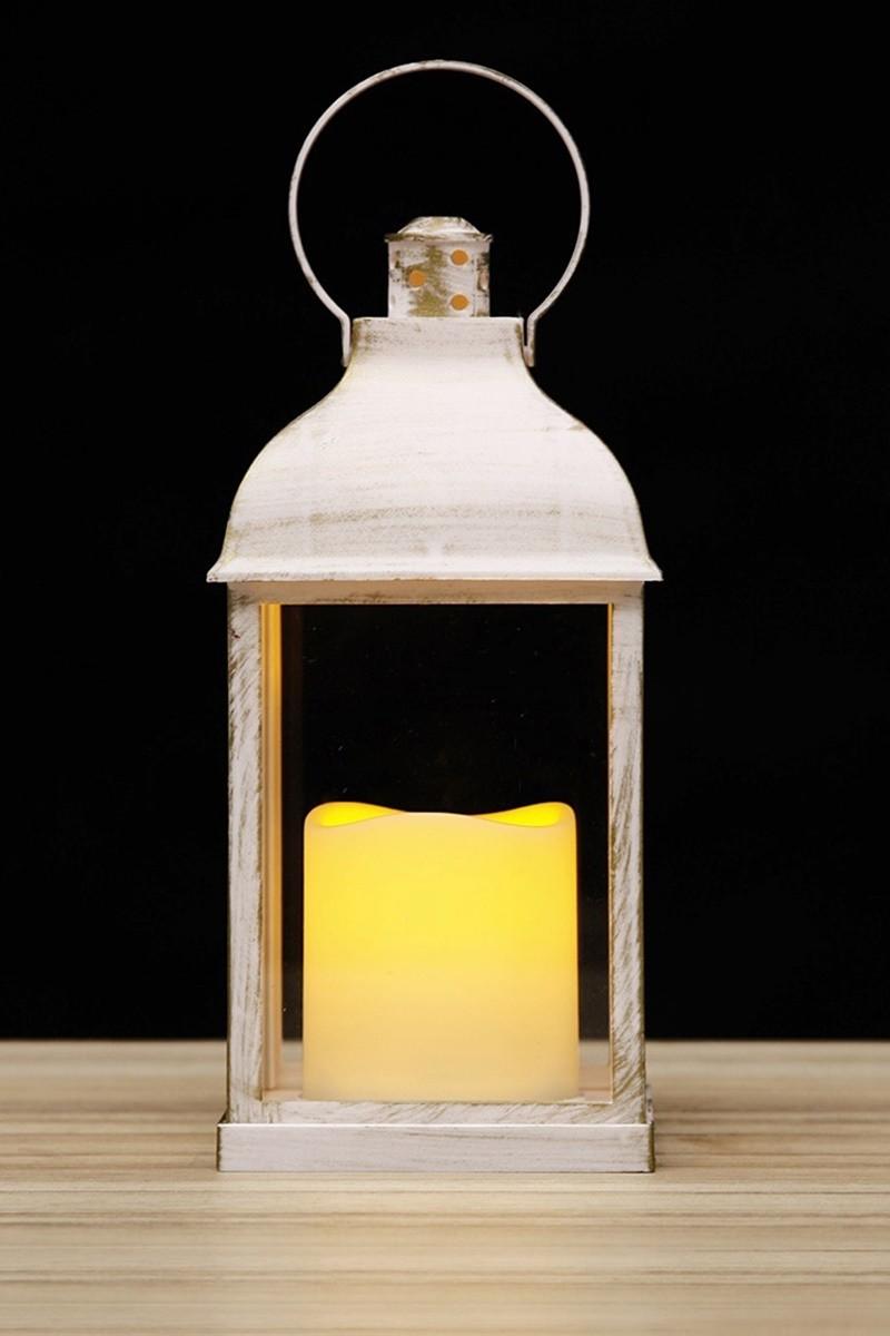 Fehér színű lámpás