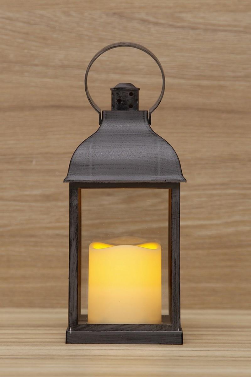 Antracit színű lámpás