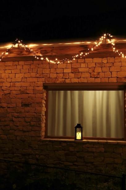 Kültéri fényfüzér 550 LED
