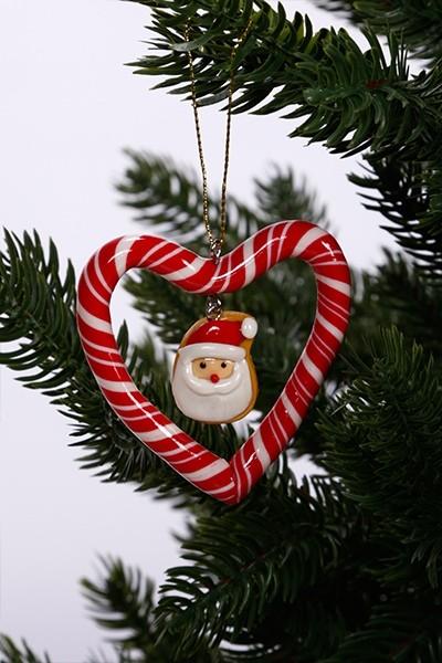 Karácsonyfadísz-télapó