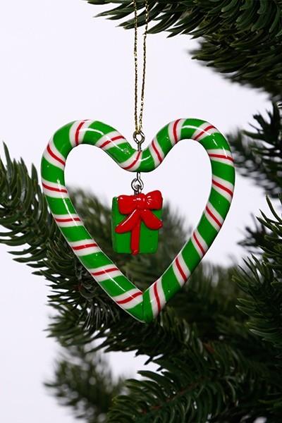 Karácsonyfadísz-ajándékdoboz
