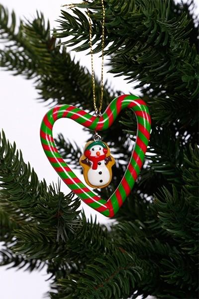 Karácsonyfadísz-mézeskalács